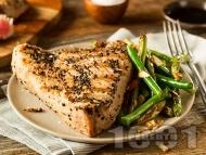Филета риба тон Терияки на грил / скара / барбекю